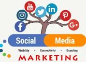 Social media marketing - improve sales; attract cu