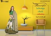 Wedding lehenga choli shop indian lehengas online