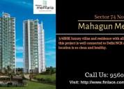 Mahagun mezzaria sector 78 noida