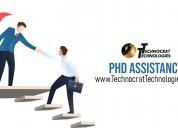 Phd research framework design & assistance