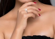 Find silver rings online for women's girls, ladies
