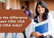 What is the difference between cma usa and cma ind