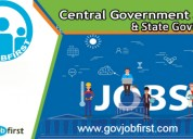 Latest government job notifications govjobfirst