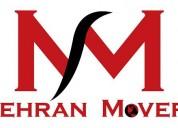 Mehran movers - services