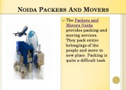 Hiring reliable packers and movers in noida