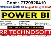 Best power bi training institute in ameerpet, hyde