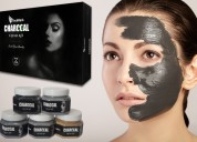 Charcoal blackhead removal & purifying facial kit