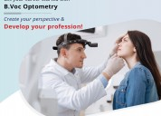 B.voc optometry college