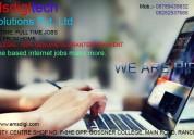 Home based internet jobs make more.