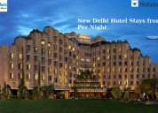 New delhi hotel stays from rs.416 per night