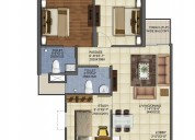 Mahagun mywoods 2/3bhk ready to move in @ 33 lacs*