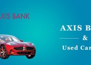 Apply for axis bank used car loan online