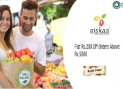 Giskaa coupons, deals & offers: get rs.100 off you