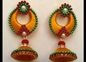Huge deals on silk thread earrings online