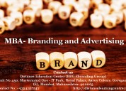 Mba in branding and advertising