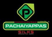 Silk sarees in kanchipuram - pachaiyappas