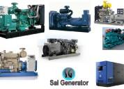 Used generators sell cummins-kirloskar-ashok leyla
