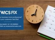 Twics fix - online appointment schedule module