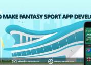 Develop a fantasy sports mobile app like dream 11