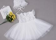 Jessica - baptism dress & cap for girls