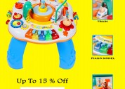 Multifunctional activity table for kids