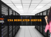 Usa dedicated server hosting plan and price