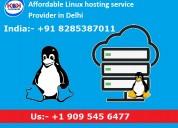 Affordable linux hosting service provider in delhi