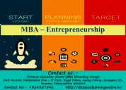 Mba – entrepreneurship