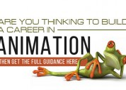 Build your career in animation