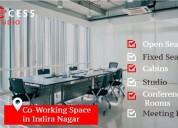 Success studio - co working space in indira nagar