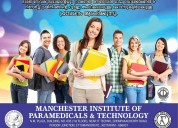 Manchesterinstitute of paramedical andtechnology
