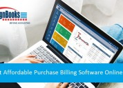 Get affordable purchase billing software online.