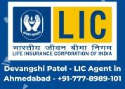 Devangshi lic agent prahaldnagar ahmedabad - 77789