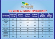 Work from anywhere you like and earn up to 45,000