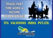 Tourism company hiring candidates