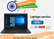 Multi brands service offer for laptops starts @ rs