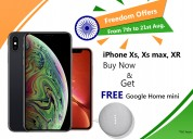 Buy any (iphone xr to iphone xs max) & get free go