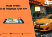 On-demand taxi booking app development
