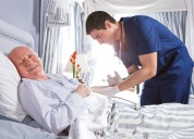 Reliable home nursing and patient care services 24