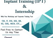Embedded system course in chennai
