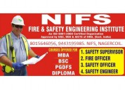 Bsc fire and industrial safety course in nagercoil
