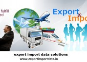Export and import data
