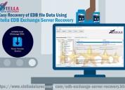 Easy recovery of edb file data using stella edb ex