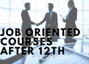 Best job oriented courses after 12th gets you 93%