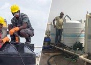 Low-cost water tank cleaning services