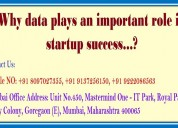 Why data plays an important role in startup succes