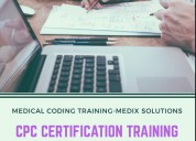 Best medical coding cpc certification training institute in hyderabad