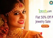 Jpearls coupons, deals & offers: flat 50% off pear