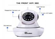 Auto-rotating wireless cctv camera