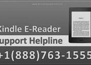 Kindle e-reader customer service   +1(888)763-1555